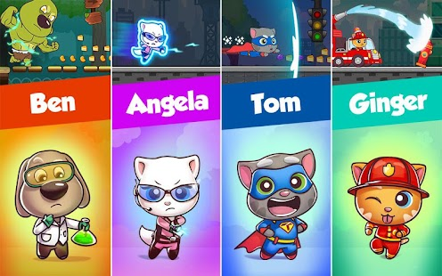 Talking Tom Candy Run Screenshot