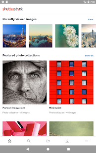 Shutterstock Screenshot