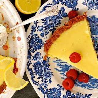 Lemonade Pie + Gingersnap Crust Recipe