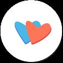 러브레터 소개팅 -  매일 8명, (연결/대화 100% 무료, 정직한 소개팅) icon