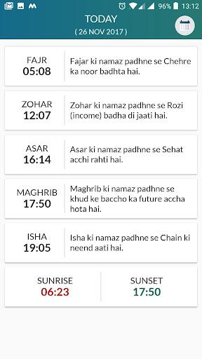 Namaz Times by Irshad Vali (Google Play, United States