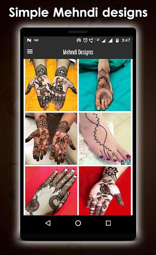 Simple mehndi design new 1.3 screenshots 4