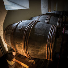 Photo: Beer barrels in Henry VIII's cellar, Hampton Court