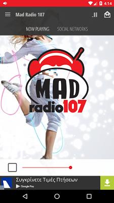 MAD RADIO 107 - screenshot