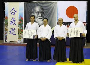 Photo: 2nd Dan Aikido Aikikai - Eugene Kosolapov 1st Dan Aikido Aikikai - Aleksandr Kupchenko