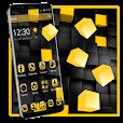 Yellow Black Cube Theme