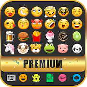 Cute Emoji Keyboard Premium - GIF, Emoticons