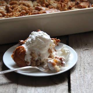 Butterscotch Bread Pudding.