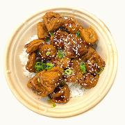 Grandma's Honey Sweet Tofu Rice Bowl