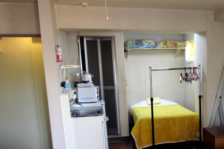 Comfy living area at Koto-Ku Serviced Apartment