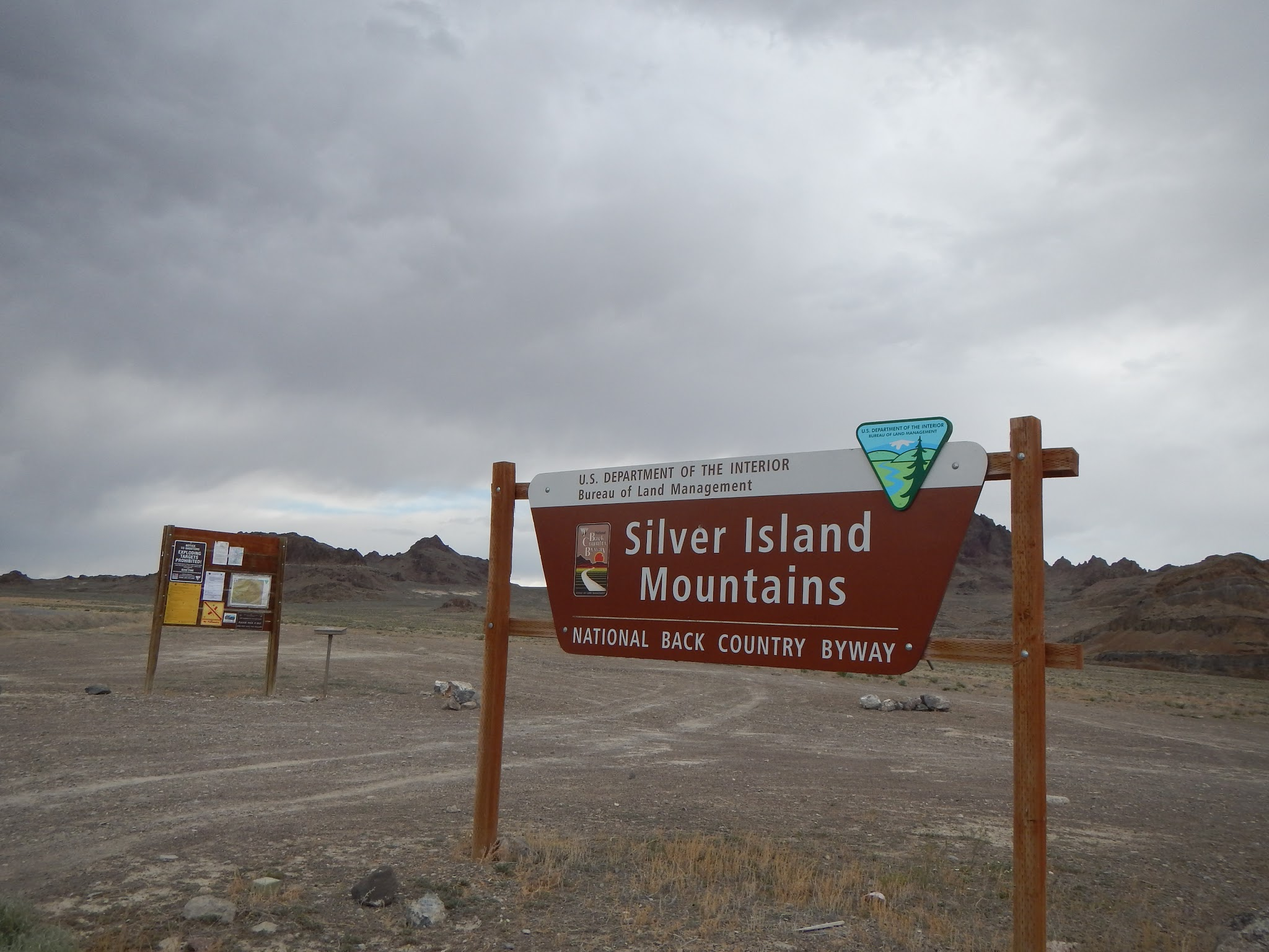 Photo: Gateway to the rarely visited Silver Island Mountains.