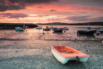 Photo: Sunrise over the harbour © Steve Gill - Prints available at: http://www.stevegillphotography.co.uk licensed under a Creative Commons Attribution-NonCommercial-ShareAlike 3.0 Unported License.