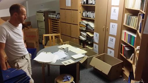 Arkivet er flyttet ind i Globen.