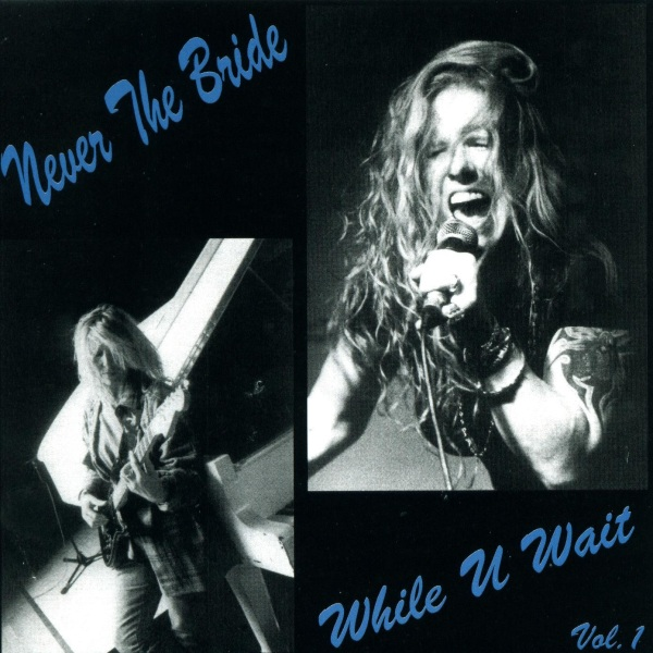 Photo: Never The Bride's Album While U Wait. Download available at http://www.neverthebride.com/music/while-u-wait/ only £4.99 for a limited time. Read our message at http://ymlp.com/zgcLiu X