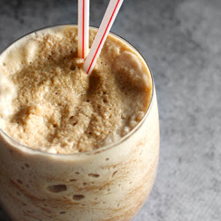 Blended Iced Cappuccino.