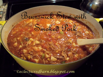 Eclectic Red Barn: Brunswick Stew with Smoked Pork