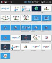 Photo: #Storyboard #ExplainerVideo Feedzai Design by: http://bossvfx.com