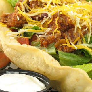 How do I Make Taco Salad Bowls From Tortillas?.
