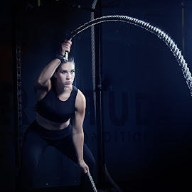 ropes by Kelley Hurwitz Ahr - Sports & Fitness Fitness ( kelley hurwitz ahr, gels, erika, fitness, tamara, kelley ahr, samantha )