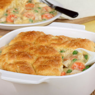 One-Pot Chicken and Biscuit Casserole