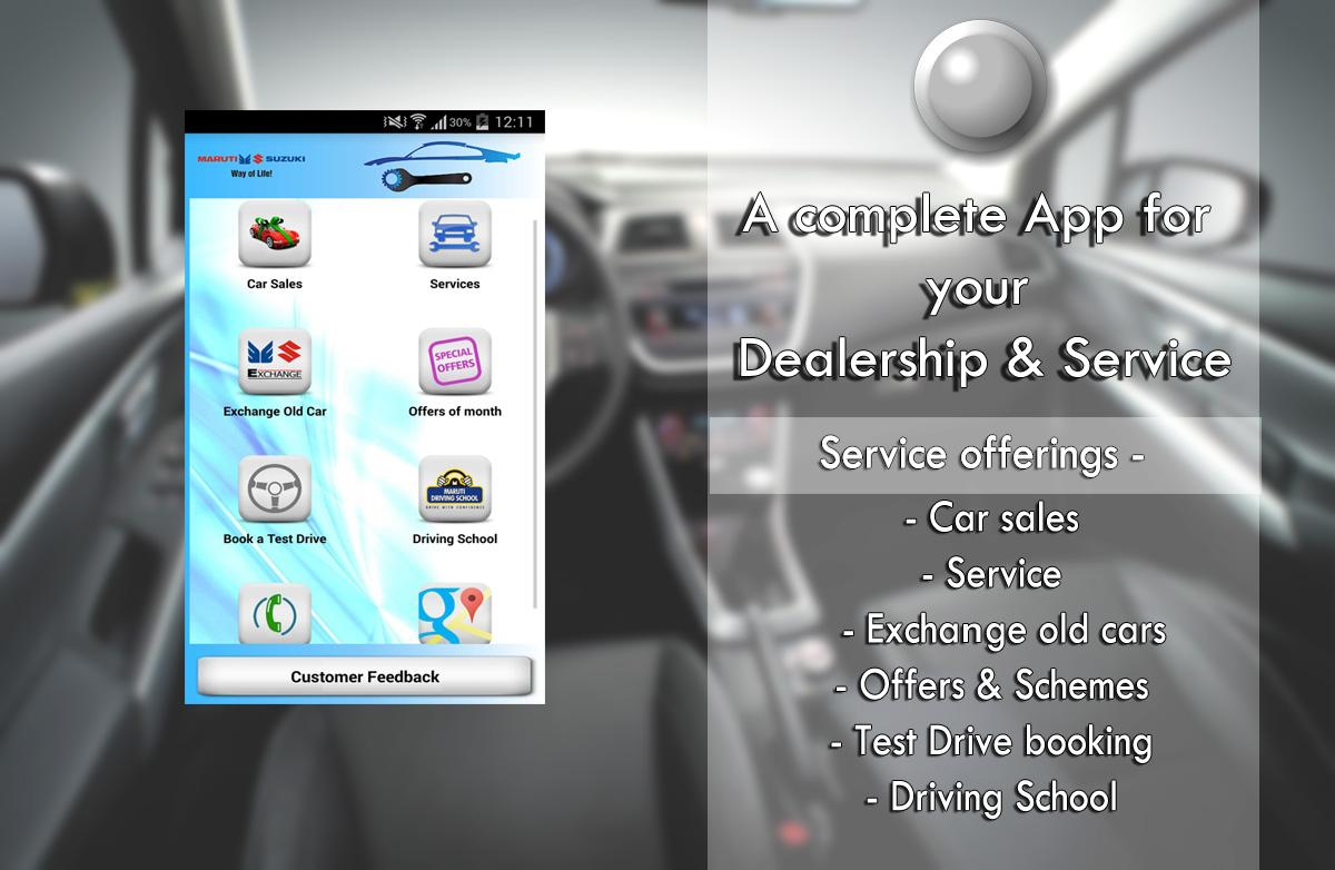 Dealership App Sample- screenshot