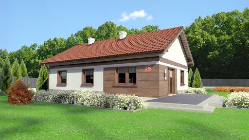 projekt Dom przy Przyjemnej 14 bis