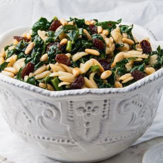 Sicilian Kale Salad With Orzo