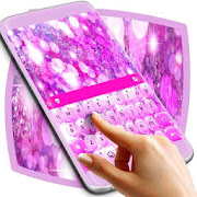 Theme Keyboard Pink