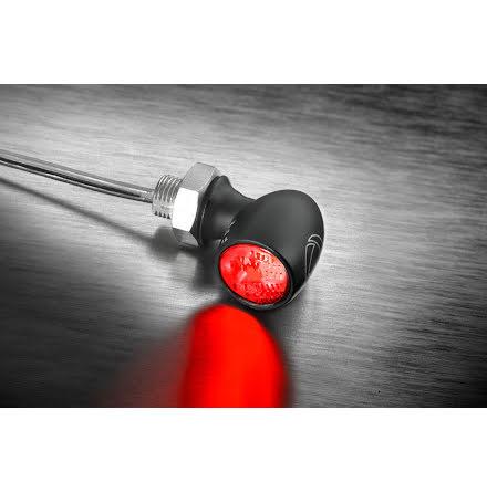 Kellermann LED broms/bakljus Bullet Atto Dark, för vertikal montering