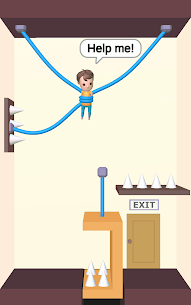 Rescue Cut – Rope Puzzle MOD (Unlimited Hints) 4
