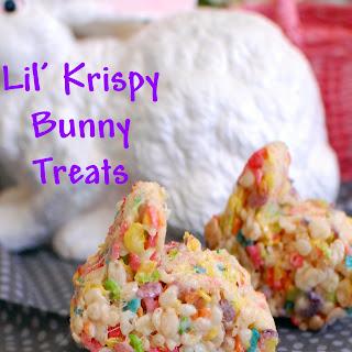 Lil' Krispy Bunny Treats