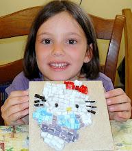 Photo: Laboratorio di mosaico: Hello Kitty