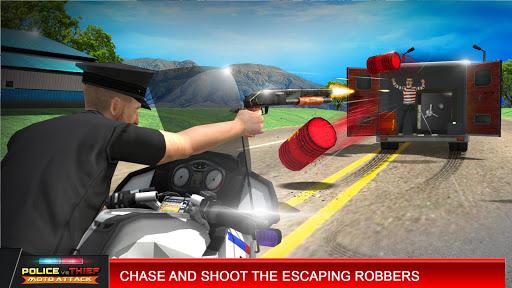 Police vs Thief MotoAttack 1.0 screenshots 2