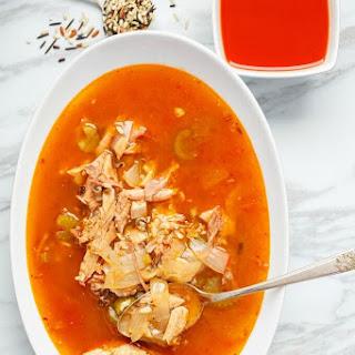 Tomato Turkey Soup with Wild Rice Recipe