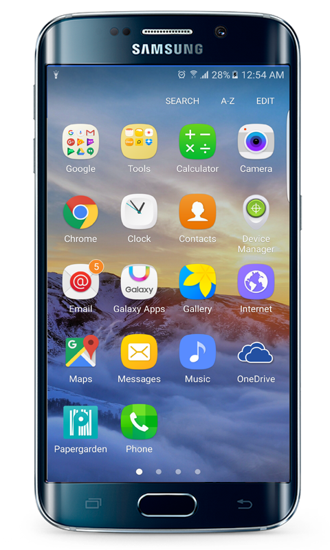 how to fix go laucher on samsung phone