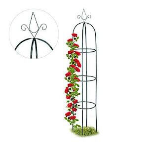 Suport metalic de gradina pentru trandafiri