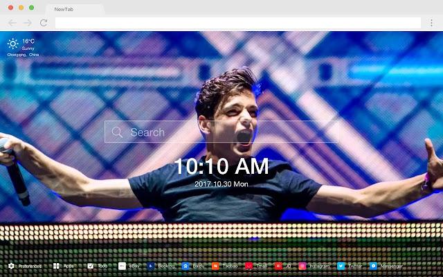 Martin Garrix New Tab HD DJ Wallpapers Theme