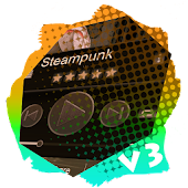 Steampunk PlayerPro Skin