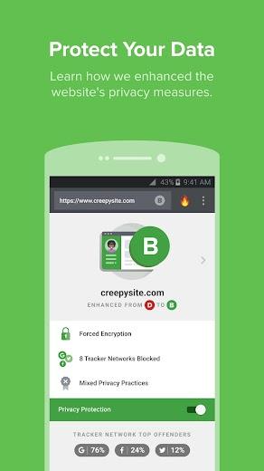Screenshot 3 for DuckDuckGo's Android app'