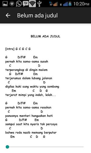Lirik Belum Ada Judul : lirik, belum, judul, Download, Guitar, Chord, Latest, Version, Android