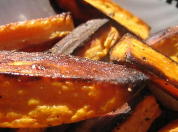 Oven Baked Sweet Potato Fries Recipe