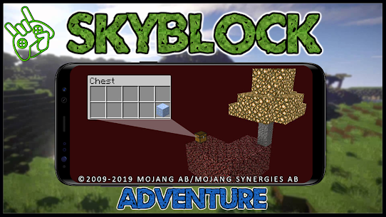 Map SkyBlock Adventure 2