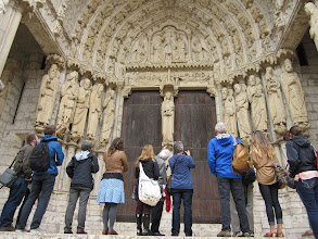 Photo: In-depth tour of Chartres Cathedral with Malcolm Miller