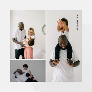 Our Best Days - Father's Day template