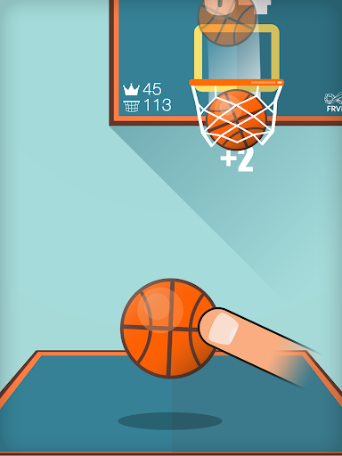 Basketball FRVR - Shoot the Hoop and Slam Dunk! - screenshot