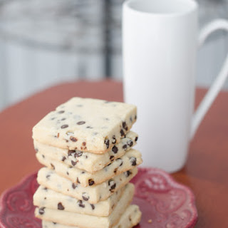 Vegan Chocolate Chip Shortbread Cookies