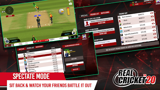 Real Cricket 20 Mod (Unlimited Money) 6