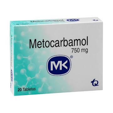 Metocarbamol MK 750mg   Tableta Caja x20tab.