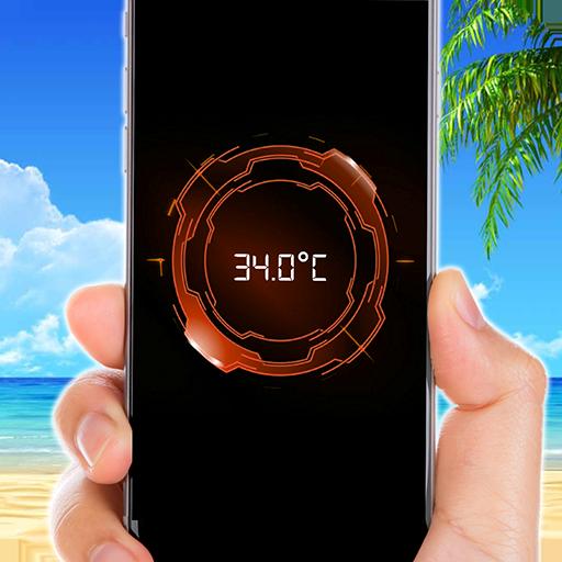 Futuristic thermometer (app)