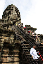 Photo: Year 2 Day 44 -  The Stairs the Public Can Use to Gain Entry to the Inner Tower Sanctuary